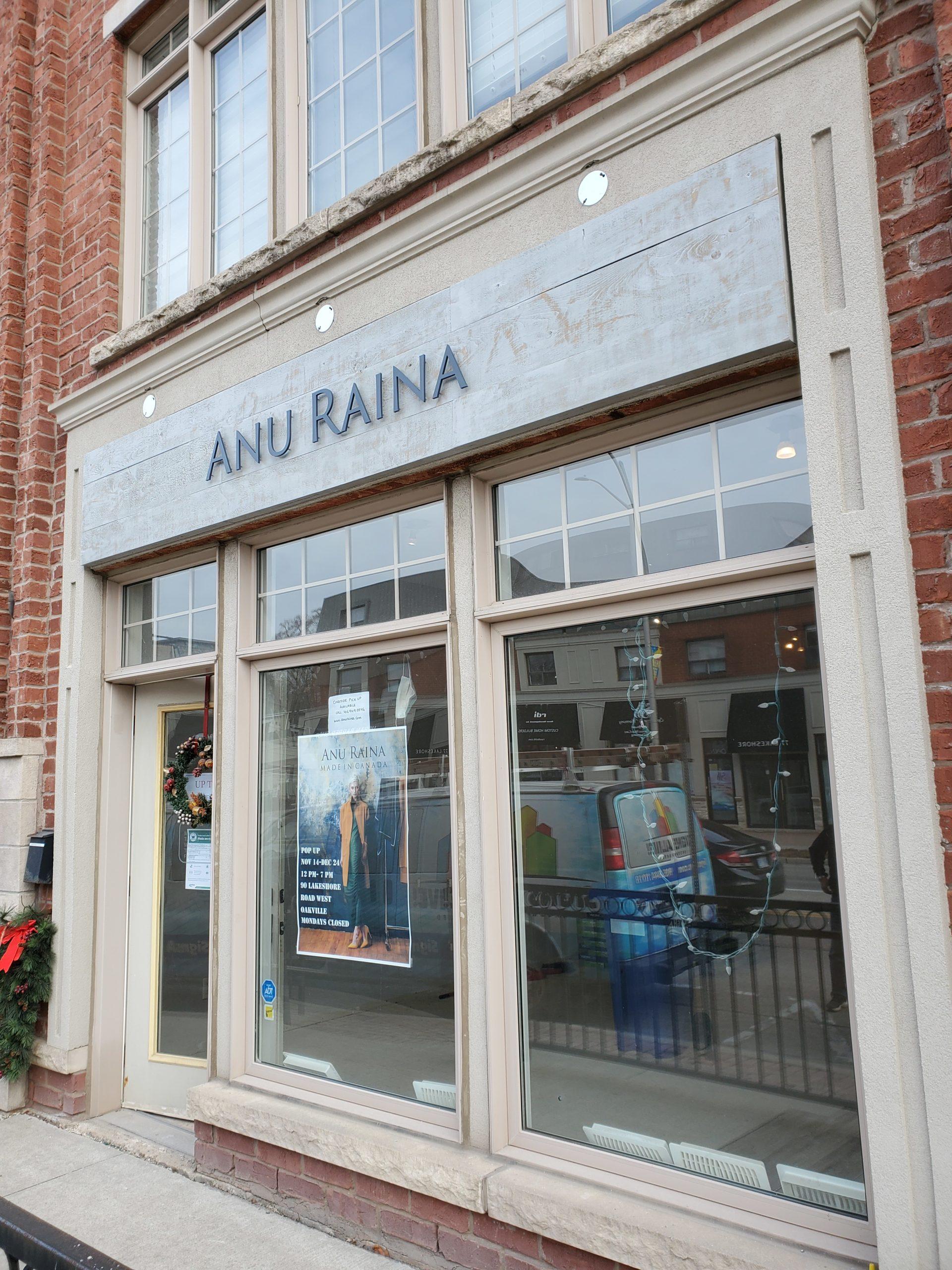 Anu Raina Reclaimed wood Backer- Aluminum Letters (2)