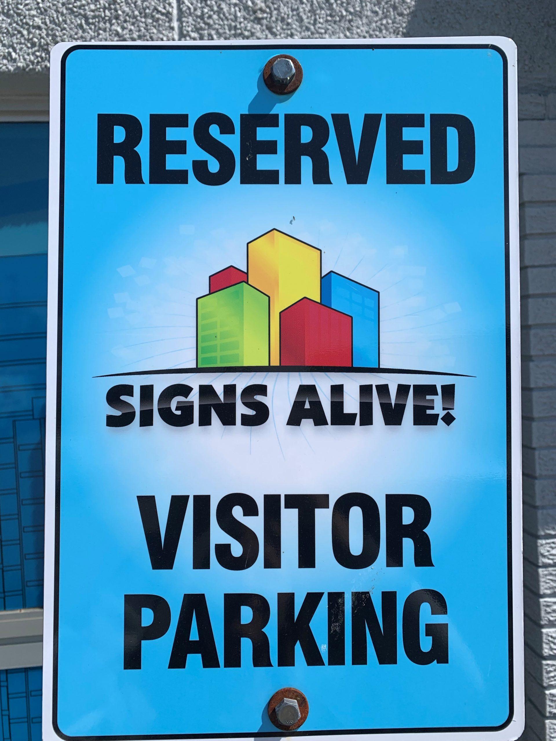 Signs alive parking sign 2